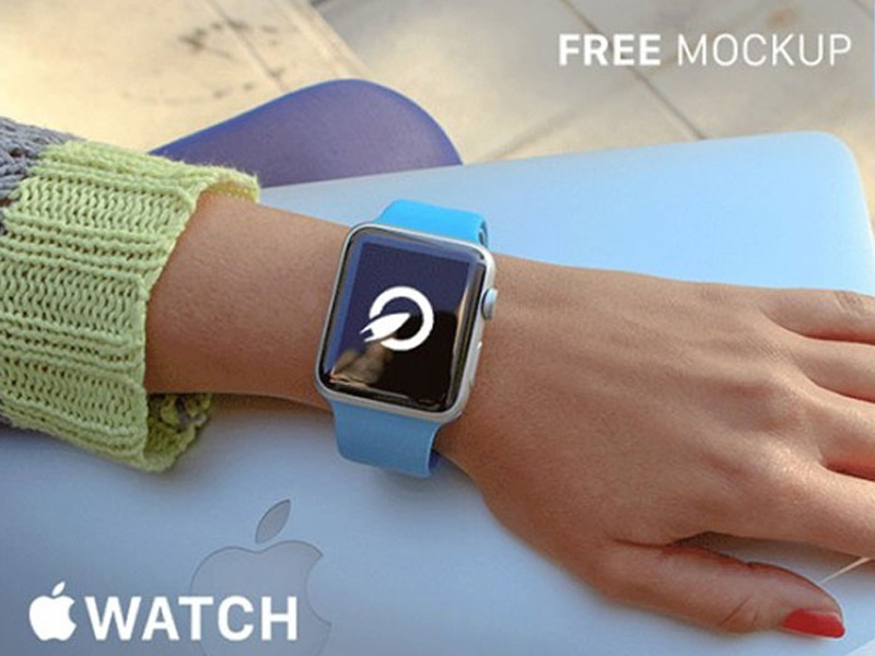 Apple Watch PSD Mockups