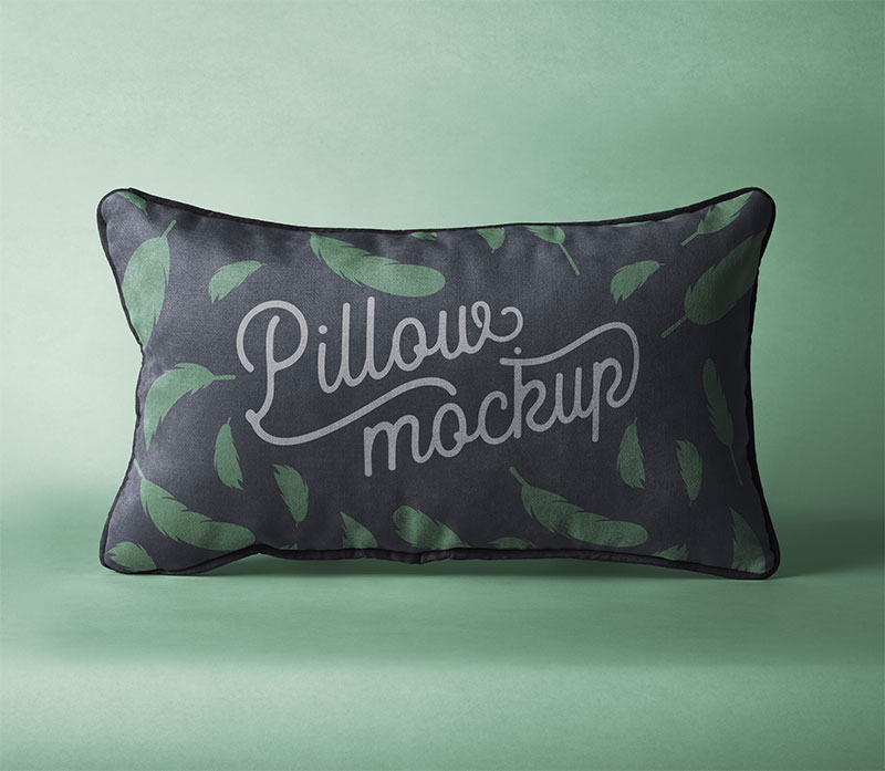 Rectangular Pillow Psd Mockup