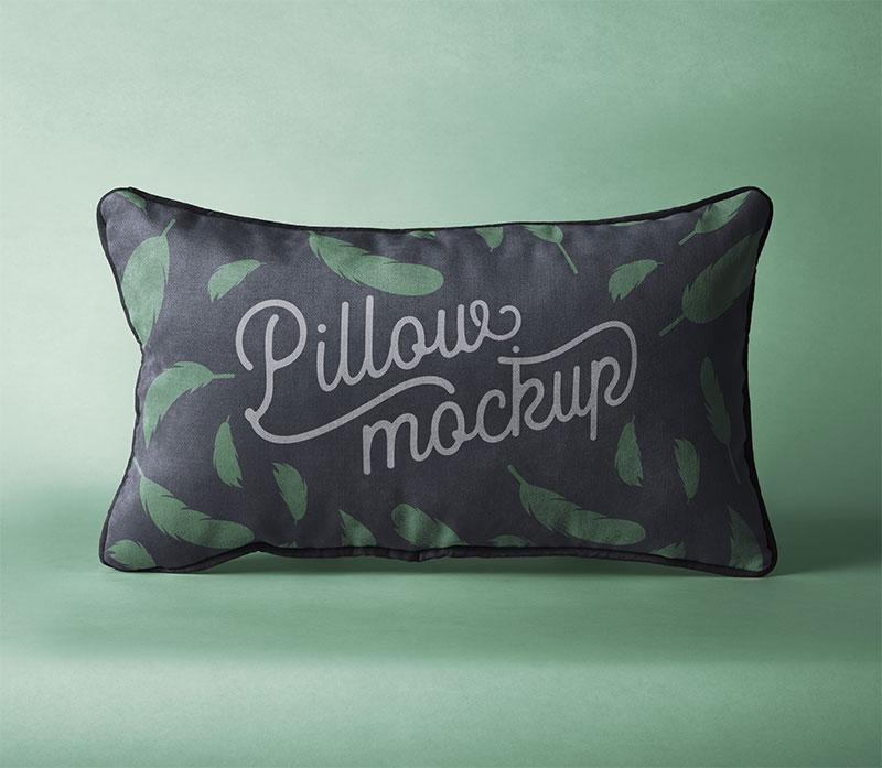 Rectangular Pillow Psd Mockup